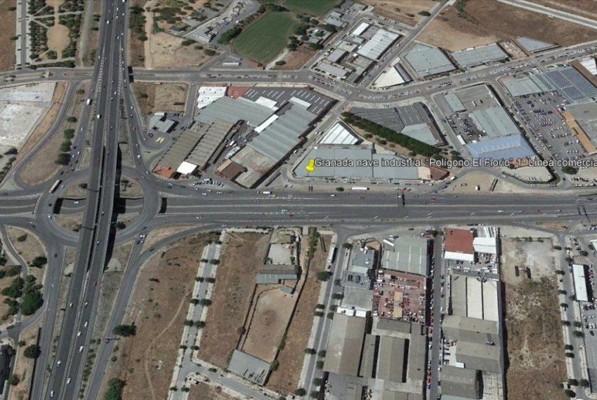 """Granada nave industrial """"Polígono El Florio"""" 1ª Línea comercia.l"""
